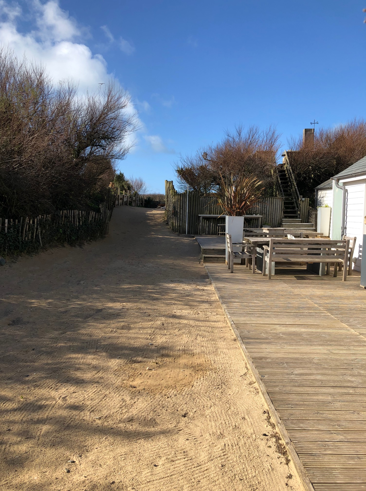 Deck at The Dunes
